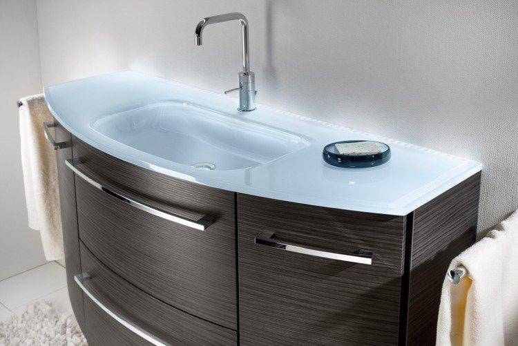 szafka umywalk z o wietleniem 120 lanzet s2 1 grafit. Black Bedroom Furniture Sets. Home Design Ideas